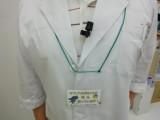 装着時の写真です。出演加藤薬剤師。