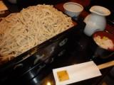 大盛りグループが食べた二八蕎麦。これでも十分おいしかったです。